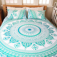Twin Mandala Tapestry Indian Wall Hanging Bohemian Hippie Ombre Bedspread Throw