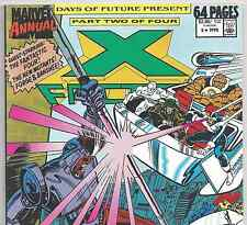 X-FACTOR Annual #5 1st Ahab with Fantastic Four App. from 1990 in F/VF Condition