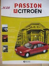 FASCICULE  26 PASSION CITROEN  BX TRS 1984