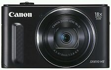 New *CANON SX610 Powershot Digital camera FULL HD WIFI NFC 20MP 18x Optical Zoom