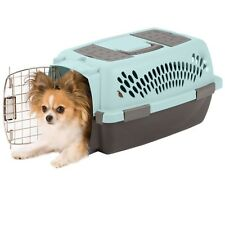 Petmate Pet Taxi Fashion Kennel Blue Air/Coffee Small