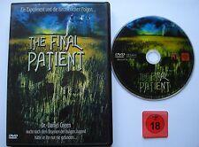 THE FINAL PATIENT _  Ein Experiment und die fürchterlichen Folgen _ FSK 18 DVD