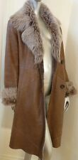 $4K Vent Couvert Italy Toscana Lamb Sheepskin Shearling Mouton Fur Leather Coat