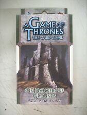 A Game of Thrones The Card Game On Dangerous Ground Chapter Pack NEW Sealed