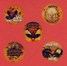 10 Spiderman Halloween - Large Stickers - Party Favors - Rewards