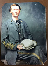 "Civil War John ""Grey Ghost""Mosby Colonel Of The Confederacy TinType C036NP"