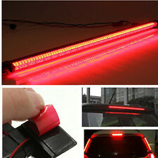 Car SUV Rear Windshield 34cm Red 40LED Warning Signal Tail Third Brake Light 12V