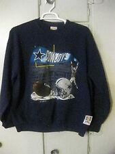 1993 Vintage Dallas Cowboys Stitched Sweatshirt Adult Size XL by Nutmeg Mills