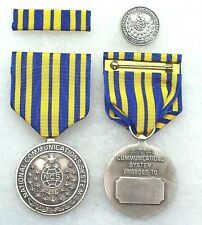 Dept of Homeland Security National Communications System Civilian Silver Medal