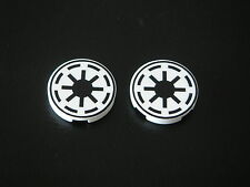 Lego 2 New round tiles 2x2 with Star Wars Republic pattern REF 4150ps6