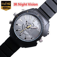 8GB Waterproof Spy Watch Camera IR Night Vision Hidden Cam Camcorder DVR Best
