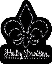 HARLEY DAVIDSON Fleur De Bling  EMBROIDERED PATCH