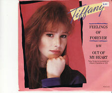 TIFFANY - FEELINGS OF FOREVER - OZ45 VINYL RECORD - PIC SLVE SINGLE