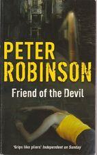PETER ROBINSON ___ FRIEND VON THE DEVIL ___ BRANDNEUE ___ WERBEANTWORT UK