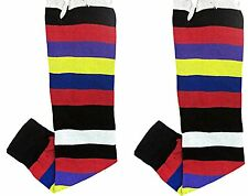 SHINOBI  Tabi Socks RAINBOW 1 Size Senior UK 7-11
