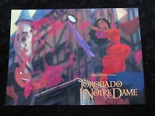 Walt Disney's THE HUNCHBACK OF NOTRE DAME  lobby card  #9