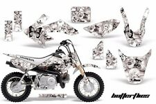 AMR Racing Honda Graphic Kit Bike Decal CRF 50 Decal MX Parts 2004-2013 BFLY BLK