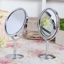 Mirror Magnification Tabletop Vanity Table Round Mirror Two-Sided Makeup LO