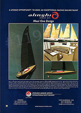 ALINGHI Class 85 Maxi One Design Yacht ADVERT - 2003 Advertisement