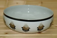 Block Allspice Round Vegetable Serving Bowl 8 1/2""