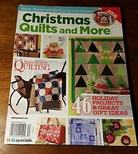 Christmas Quilts & More, November 2016 Magazine,NEW