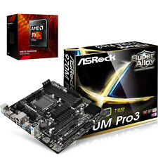 COMBO: AMD FX 8320e 8-CORE CPU & ASRock 970M PRO AM3+ micro-ATX Motherboard NEW