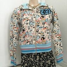 New Tokidoki Set Moofia Print Zip Up Hoodie Jacket Sweater Shirt Top Medium M