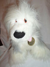 "Disney Macy's Little Mermaid Max Dog 15"" Sheepdog  Plush Soft Toy Stuffed Animal"