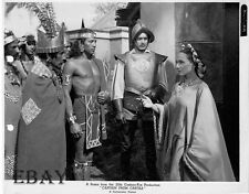 Jay Silverheels barechested Tyrone Power VINTAGE Photo Captain From Castille