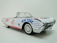 A Ford Tbird 1960s GT 1 Rare Vintage Sport Car Exotic Carousel White Model 18 T