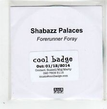 (GD619) Shabazz Palaces, Forerunner Foray - 2014 DJ CD
