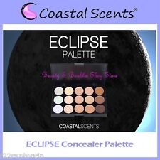 NEW Coastal Scents 15-Color ECLIPSE Concealer Palette w/Case FREE SHIPPING Cream