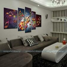 Music Note Guitar HD Canvas Prints Home Decor wall art Painting Picture Unframed