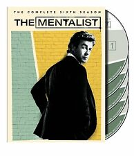 The Mentalist ~ The Complete 6th Sixth Season 6 Six ~ BRAND NEW 5-DISC DVD SET