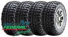 4 NEW 235 85 16 FEDERAL COURAGIA MT 120/116Q E/10 PLY TIRES LT235/85R16 2358516