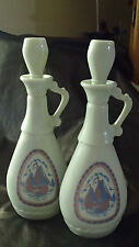 """PROHABITION MILKY OPAQUE GLASS BOTTLE, """"FEDERAL LAW FORBIDS SALE OR RE-USE OF"""""""