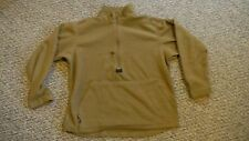Large USMC Polartec 100 Fleece Pullover Jacket Coyote Brown (Defect)