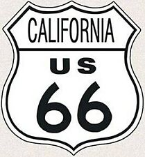 Placa Metal California Route 66  (de)  REDUCIDO