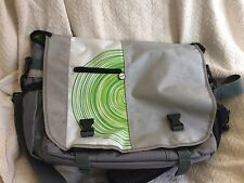 Xbox 360 Backpack Silver Gray White Bag Carrying Case