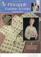 Pineapple Fashion Accents~  Crochet Book  ~  7 patterns