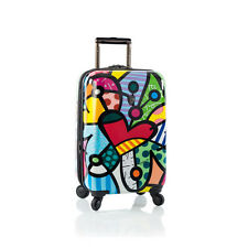 "HEYS ROMERO BRITTO COLLECTION USA BUTTERFLY LOVE 21"" SPINNERS LUGGAGE * NEW **"