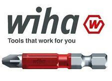 1x Wiha Maxxtor PZ2 (POZI 2) - 49mm Long Impact Driver Screw Bit 36832 FREE P&P