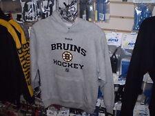 Bruins Reebok YOUTH Hoodie Hoody PULL OVER   NWT NEW  MEDIUM