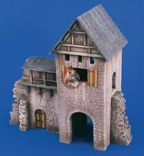 Verlinden 1/35 Medieval Castle Section Set I [Plaster Diorama Model kit] 1687