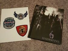 RESIDENT EVIL 6  COLLECTOR'S  Edition Strategy Guide - Hardcover PLUS Patches
