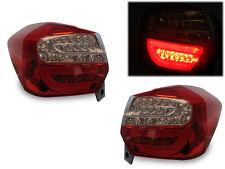 Depo 12 13 14 15 Subaru Impreza 5D Full LED Light Bar JDM Red/Clear Tail Lights