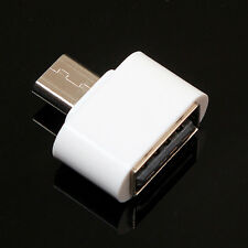 10pcs Micro USB To USB2.0 Adapter Mini OTG 5 pin Converter for Phone Android LG