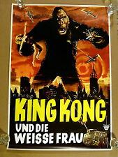KING KONG UND DIE WEISSE FRAU * ca. A2-FILMPOSTER 48x68cm - End-1960er