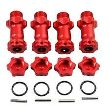 RC 89108 Red Alum Wheel Hex 17mm Enhanced Mount 30mm For HSP 1:8 Buggy Truck