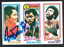 Austin Carr #61 signed autograph auto 1980-81 Topps Basketball Trading Card